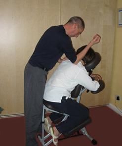 on site shiatsu massage