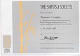 MRSS certificate - Des Lawton
