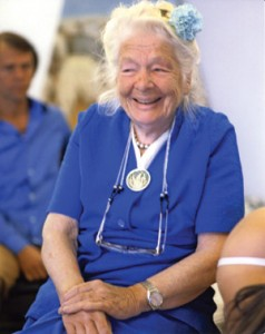 Dr. Ida Rolf, the founder of Rolfing