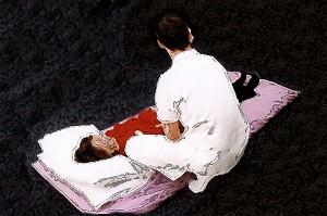 shiatsu treatment