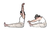 The water stretches from the Makko Ho exercises
